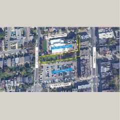 Aerial of 2512R Yonge Street Outlined