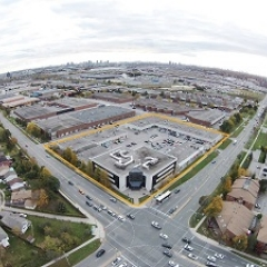Aerial Picture of Multi-Use Complex at Finch & Tapscott Road