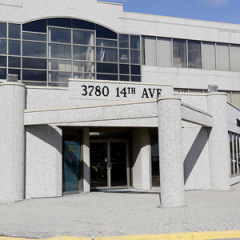 Photo of outside main entrance of office building at 3780 14th Avenue