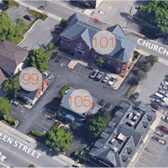 Aerial Photo Queen Street South